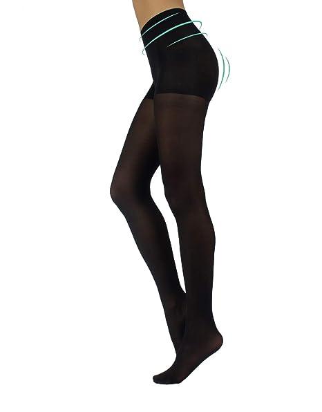CALZITALY Collant Opaque Femme Anti Cellulite   Collants Gainant Shaper  Minceur pour Belle Jambes contre la a318242bad7b