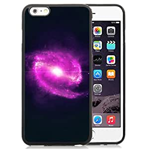 Unique Designed Cover Case For iPhone 6 Plus 5.5 Inch With Ml Space Pink Bingbang Explosion Star Nature Dark Phone Case