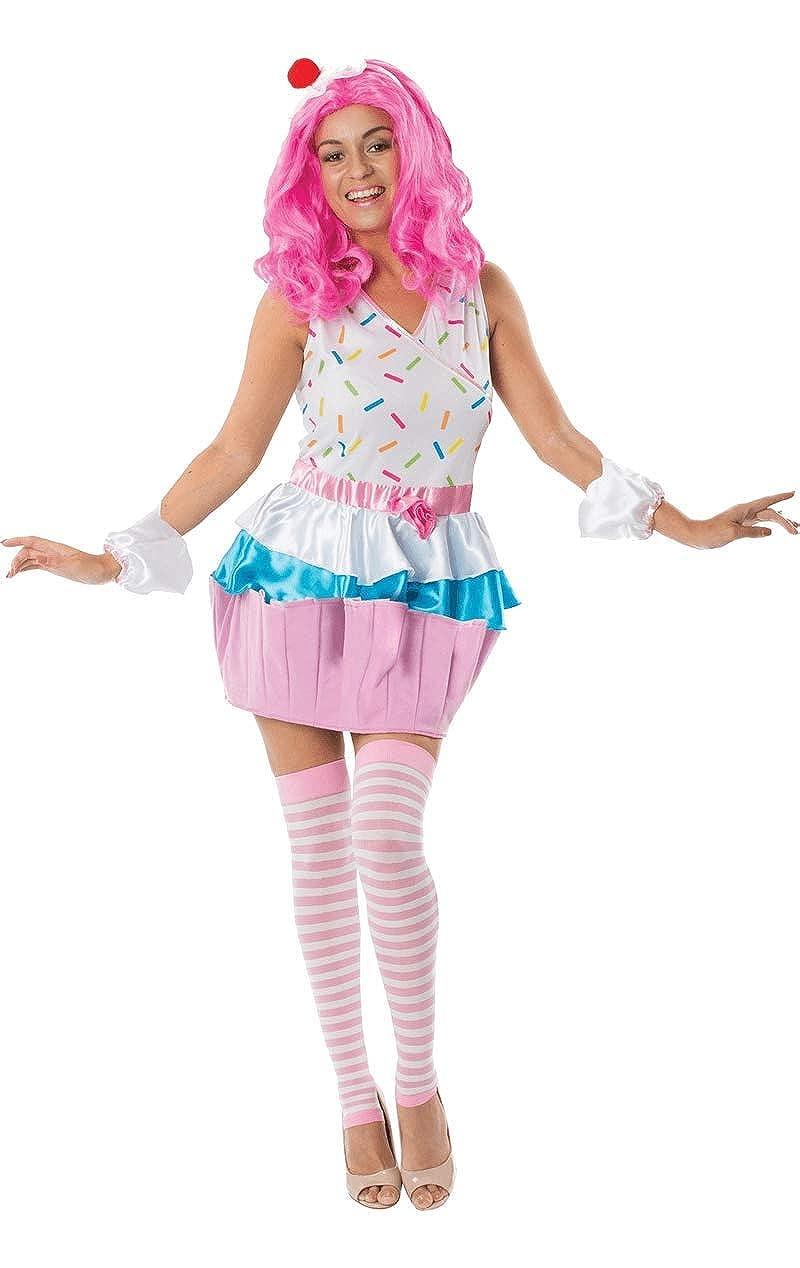 Adult Cupcake Fancy Dress Costume: Amazon.es: Ropa y accesorios