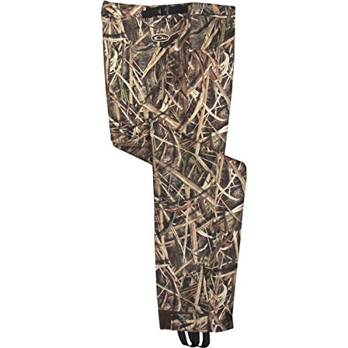 Hardshell Pants - Drake DW244BLA-M Men's Waterfowl MST Bonded Fleece Pants Shadowgrass Medium