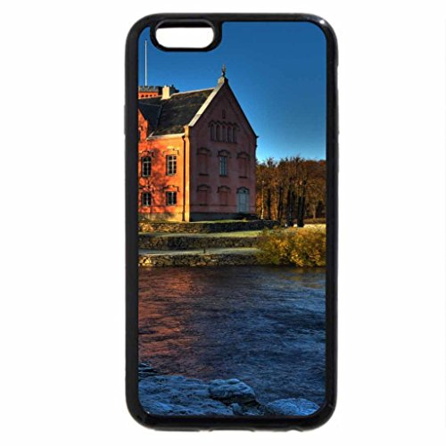 iPhone 6S / iPhone 6 Case (Black) lovely palace on a river at sunset