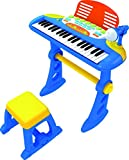 Lenoxx CHILDRENS TOY ELECTRONIC KEYBOARD With 37 Keys (BLUE)