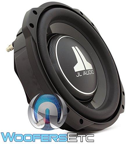 Jl Audio 10tw3-d8 Shallow-mount 10-inch subwoofer ( Dual 8 ohm voice coil ) (Jl Audio Rear Speakers)