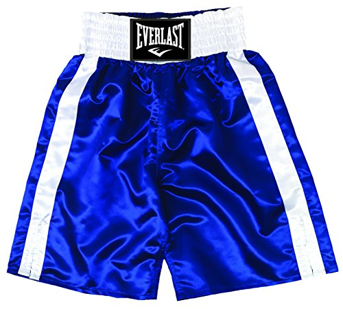 Everlast Standard Bottom of Knee Boxing Trunks - Medium - Black by Everlast