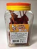 Yotchan Food Japanese Seafood squid cuttlefish snack Whole vinegar squid Marugoto Su-ika 160g Pot
