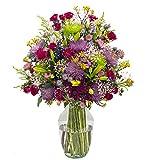 eFlowy Raining Color Vase Floral Arrangement Just Because