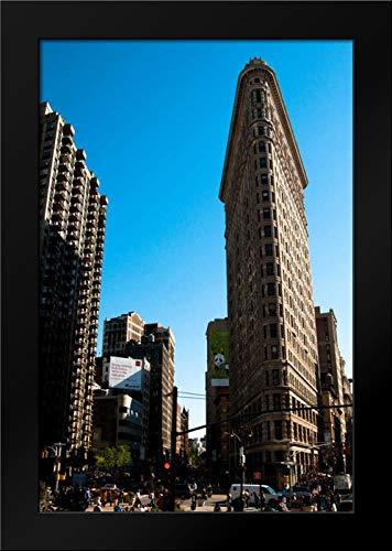 Flatiron Building Framed Art Print by Berzel, Erin ()