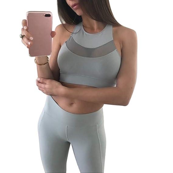 Sujetador Deportivo para Mujeres de Alto Impacto Sin Aros Running Correr Yoga Aptitud Fitness Racerback Sujetador Deporte para Mujer, 1 Pieza: Amazon.es: ...