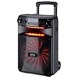 QFX PBX-1210 Smart App Controlled Party Sound System with Light Effects