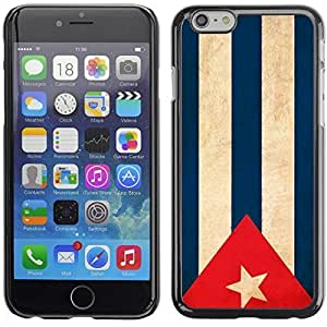 Graphic4You Vintage Cuban Flag of Cuba Design Hard Case Cover for Apple iPhone 6 Plus by lolosakes