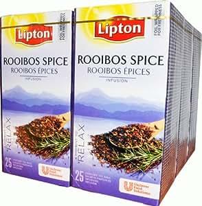 LIPTON ROOIBOS TEA PK25