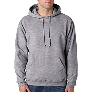 Jerzees 8 oz. NuBlend 50/50 Pullover Hood, Oxford - X-Large