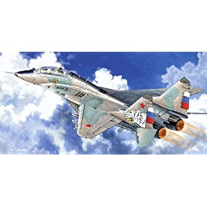 Academy 1/48 Fulcrum B RussianAF Fighter Ltd. Edition Kit 4