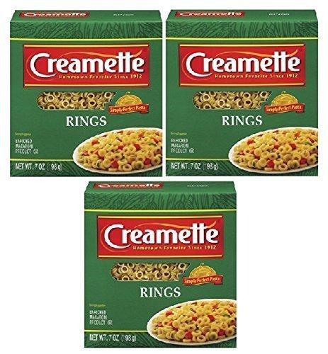 Creamette Pasta Rings Small 7 Ounce Box (Pkg. Of 3) - Maple Field Target