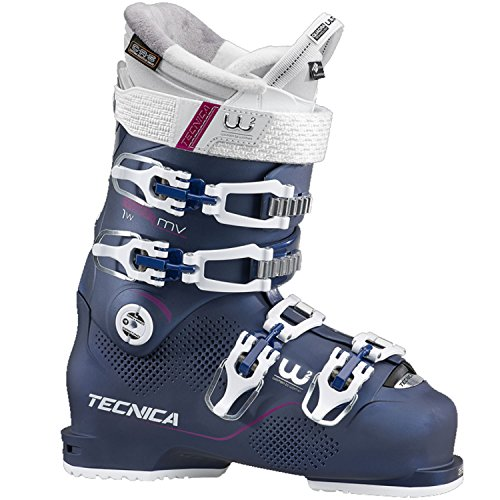 Tecnica Mach1 95 MV Ski Boot - Women's Blue Night, 24.5 ()