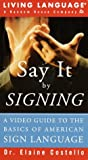Say It by Signing, Living Language, 0517560984
