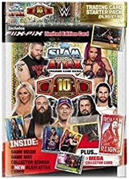 mat = Cards ... Game Guide Topps Slam Attax univers Starter Pack = album