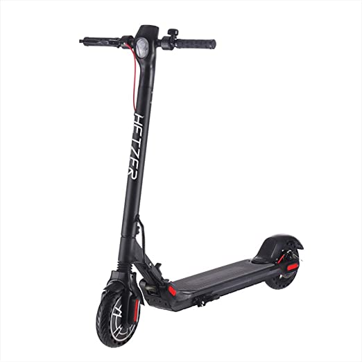 """HETZER MAX Electric Scooter - 350W Motor 8.5"""" Solid Tires One-Step Fold, Adult Electric Scooter for Commute and Travel"""