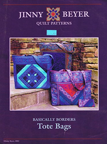 Basically Borders Tote Bag Jinny Beyer Quilt Patterns
