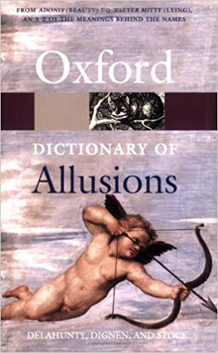 The Oxford Dictionary Of Allusions por Sheila Dignen epub