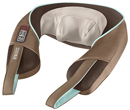 HoMedics NMS-375 Shiatsu Neck and Shoulder Massager with Heat - Shiatsu Neck