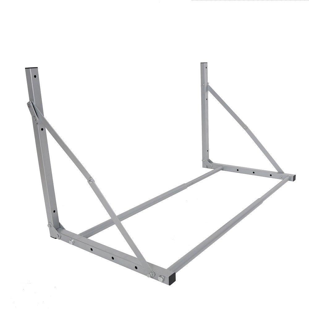 30''- 48''x25''x22'' Folding Tire Wheel Rack Storage Holder Garage Wall Mount Tire Loft | Heavy Duty Steel 300LB Max