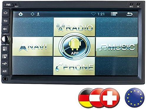 NavGear de 2 din Android de DSR Radio de coche N 420 – GPS, Europa: Amazon.es: Electrónica