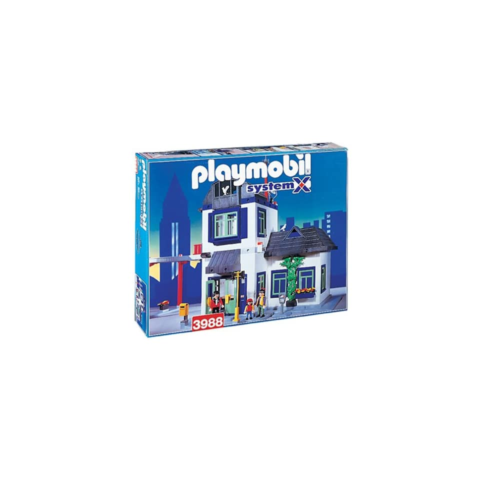 Playmobil 3988 Set   Large City House with Helicopter Pad