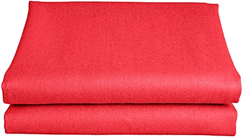 - Empire USA Worsted Speedy Billiard Cloth/Felt, 7-Feet/90x66-Inch, Red