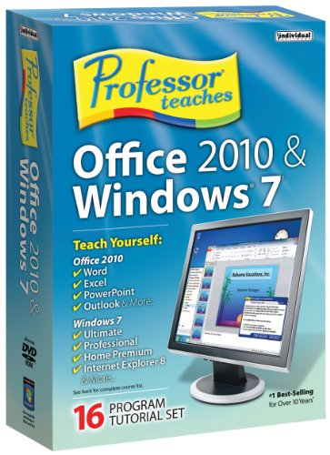 Professor Teaches Office 2010 Windows
