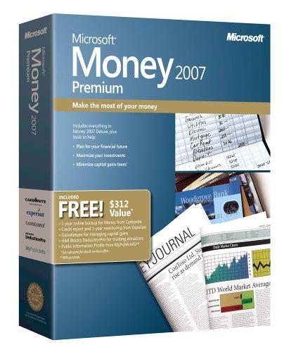 amazon com microsoft money 2007 premium old version
