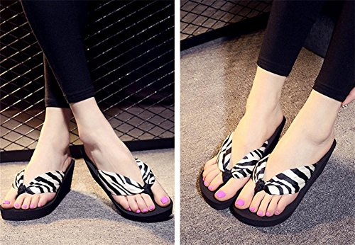 pengweiShapes slippers ladies sandals thicker bottom slope with beach shoes 2 BpE4hWhh