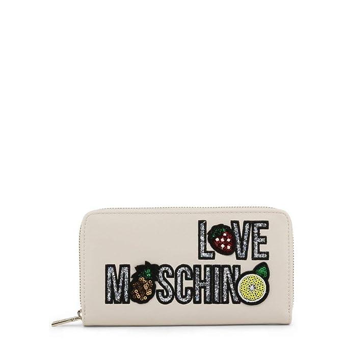 LOVE MOSCHINO PORTAFOGLI PU NERO JC5653PP07KL0000 19,5 x 11 x 2,5 cm  Portafogli