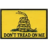 """Hot Leathers Don'T Tread On Me Biker Patch (4"""" Width x 3"""" Height)"""