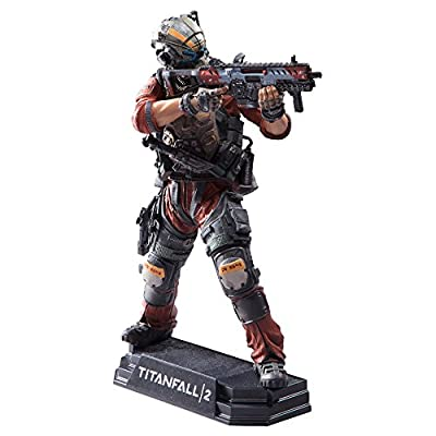 "McFarlane Toys Titanfall 2 Pilot Jack Cooper 7"" Collectible Action Figure: Toys & Games"