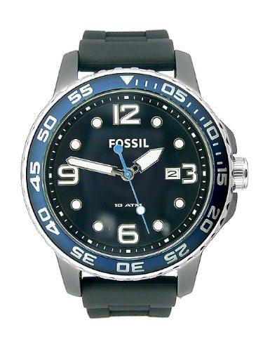 Fossil Men's FSCE5004 GTS Diver Black Dial Watch ()