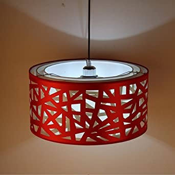 Lightinthebox Pendant Lights Modern Contemporary Dining Room Kitchen Metal Red