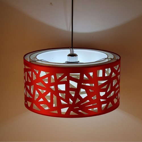 (Lightinthebox Pendant Lights Modern/Contemporary Dining Room/Kitchen Metal (Red))