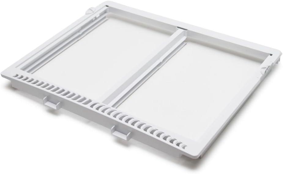 240364790 Refrigerator Crisper Shelf Frame Genuine Original Equipment Manufacturer (OEM) Part