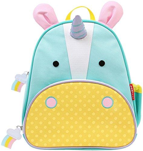 Skip Hop Zoo Little Kid and Toddler Backpack, Eureka Unicorn
