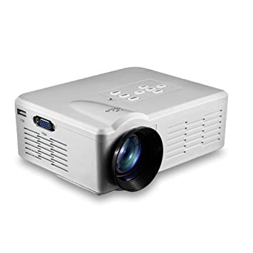 elepawl Mini LED Video Projector Portable TV DVD Game Projectors ...