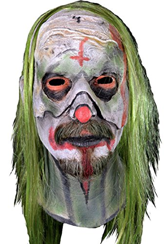 [Rob Zombie's 31 - Psycho Head Halloween Mask] (Rob Zombie Halloween Masks)