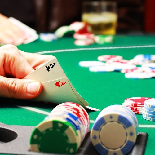 54 inch round poker table