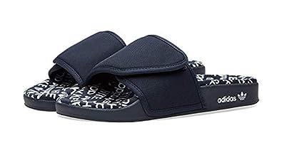 fdb52458c15151 adidas Men s x Hyke Adilette Sandals Blue
