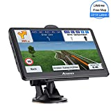 GPS Navigation System, Aonerex 7-inch 8GB-256MB Satellite Navigator, top-Loaded US and North America