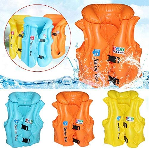 Amazon.com: Lantusi - Bañador hinchable para niños, chaleco ...