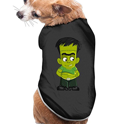 Costume Frankenstein Cat (NEW Pets Clothes HALLOWEEN Costumes Cute Frankenstein Pattern Vest Sweaters For)
