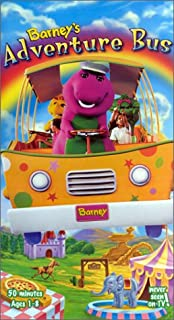 product image for Barney's Adventure Bus [VHS]