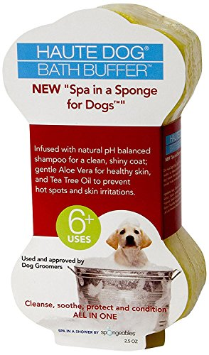 Spongeables Spa-In-a-Sponge for Dogs, 2.5oz (6 Sponges) by Spongeables (Image #1)