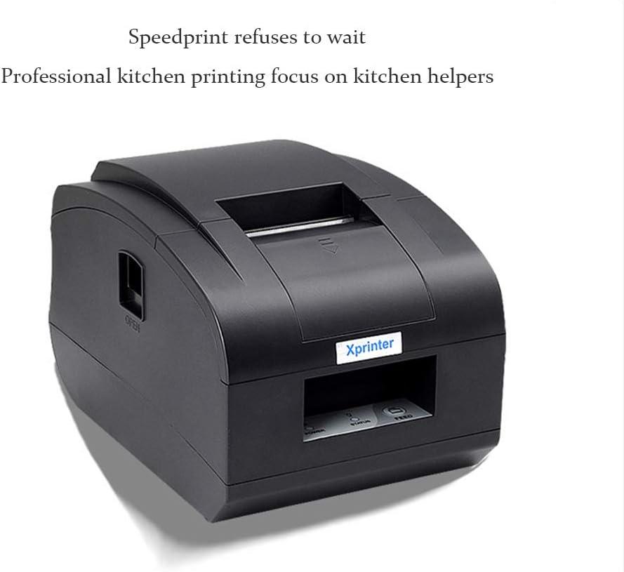 LDJC Mini Impresora Portátil, Función Impresora Térmica de Boletos 58MM con Cortadora Automática Impresora Fácil de Instalar Diseño de Papel Caja Registradora para Windows: Amazon.es: Deportes y aire libre